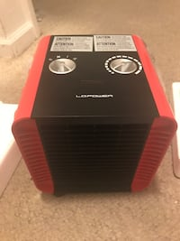 Portable Small LC space heater