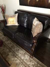 two sets of leather couches  for sale .. bought it for over $3000 Oakville, L6H 0S6
