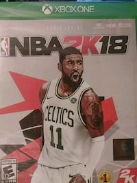 NBA 2K18 PS4 game case St. Peters