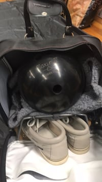 Bowling ball with Brunswick case and size 10 shoes  Tallahassee, 32303