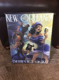 New Orleans Birthplace of Jazz poster Smyrna, 37167