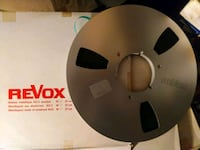 """revox metal nab 10.5"""" metal reel with tape with classical music on it Woodstock, 22664"""