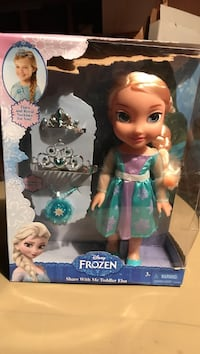 Disney Frozen Elsa doll in box