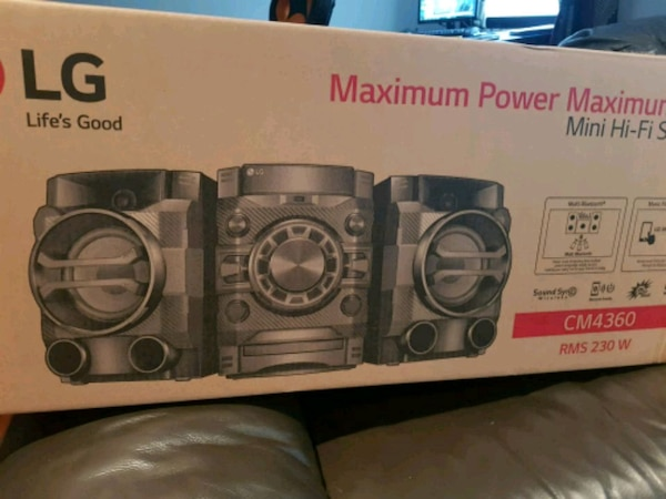 LG HiFi Brand new fully boxed