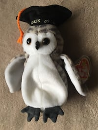 "Class of '99 Ty Beanie Baby ""Wiser"" the Owl"