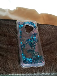 blue and clear iPhone case 2289 mi