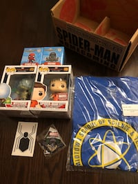 Spider-Man Assorted Marvel Collectors Corp Boxes + Mysterio Funko Vaughan, L4L 1X7