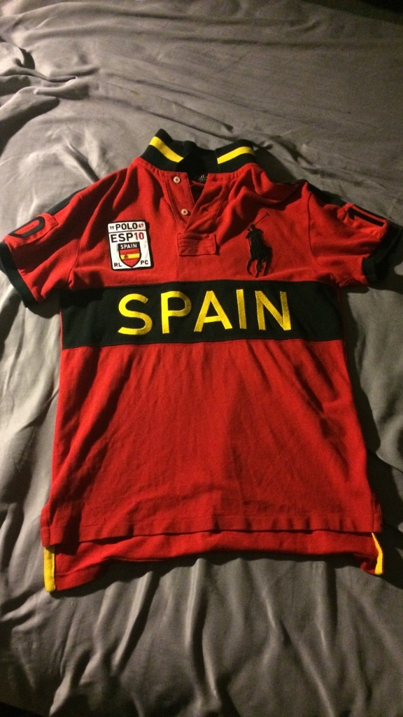 Red Yellow Polo Black And Ralph Spain Lauren Shirt 0nPwOk