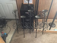 Heavy duty large wall mounting candle holder... holds 5 candles OBO Price, 84501