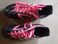 pair of black-and-pink running shoes Calgary, T2Y 4C7