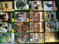 assorted Xbox games Granby, 06090