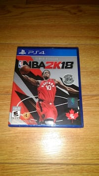 Brand New Sealed Copy of NBA 2K18 for PS4 Vaughan, L4H 2V4