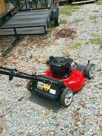black and red push mower Hopewell, 23860