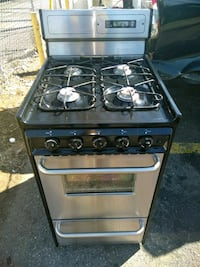 black and silver gas range oven Prince George's County, 20746
