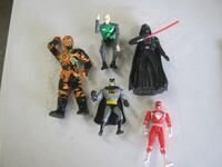 assorted action figure and action figures Rochester