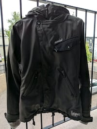 Billabong heavy weather jacket it has many pockets size xs/small