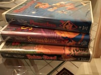four assorted DVD movie cases Annandale, 22003