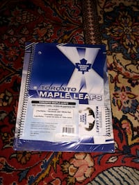 Maple Leafs Portfolio Notebook and Memopad