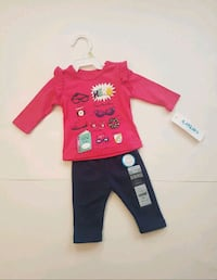 NEW WITH TAGS Carter's 3 months Baby Girl Outfit Kitchener, N2E