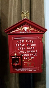 Vintage Fire Box and alarm station!