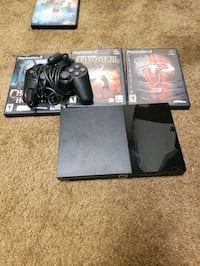 Ps2 with 1 controller memory card and 3 games! Burke, 22015