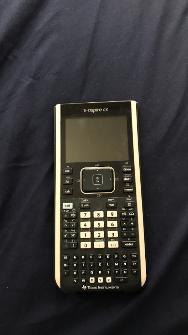 Ti Nspire Cx Graphing Calculator
