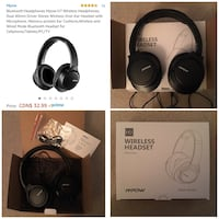 Like new MPOW over ear headphones  3716 km