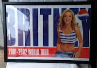 Framed Brittany Spears pepsi advertisement Edmonton, T5L 4A5