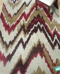 Brand new 5'X7' Shag Abstract Multi RUG Kennesaw, 30152