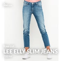 LEE jeans med  raw cut. Str 26 Nyborg, 5131
