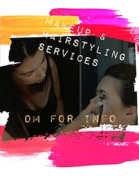 Makeup and Hairstyling services - weekends and evenings only Toronto