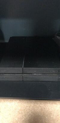 black Sony PS4 game console Sterling, 20164