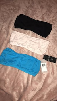 Brand New 3 Pack Guess by Marciano Bandeau Tops Burnaby, V5C 4S7