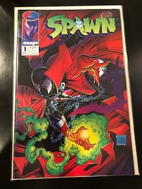 Comic Book - Spawn #1