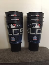 DODGERS Souvenir Cups 2018 NLCS $3 each South Gate, 90280
