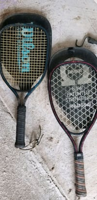 black and red Racquetball racket Pearland, 77581