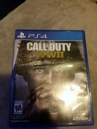 PS4 Call of Duty WWII case Albuquerque, 87123
