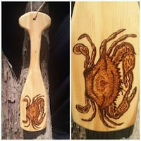 Handcrafted, decorative cypress paddle Slidell, 70460