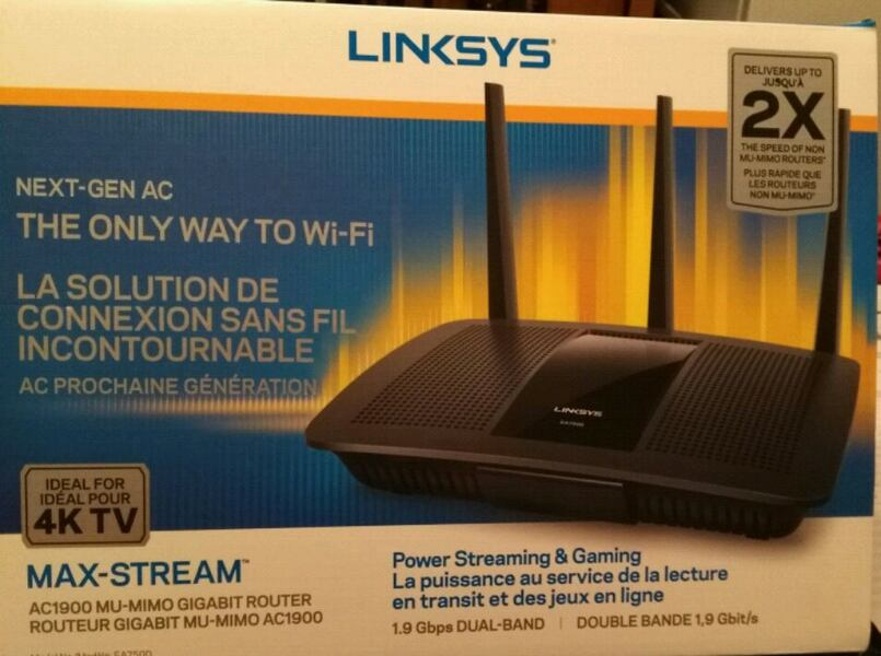 Linksys Router  1