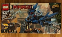 NEW IN THE BOX LEGO NINJAGO FOR SALE 60.00 obo -Ages 9-14 -Lightening NEW IN THE BOX LEGO NINJAGO FOR SALE 60.00 obo -Ages 9-14 -Lightening NEW IN THE BOX LEGO NINJAGO FOR SALE 60.00 obo -Ages 9-14 -Lightening Jet -876 pieces Bran New in the box -876 piec Surrey, V3S 8J6
