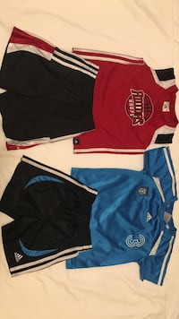 2 assorted jersey shirts and shorts Woodbridge, 22193