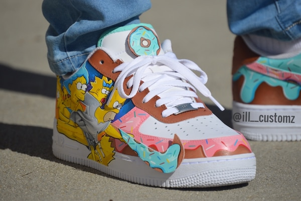 2f38c35c4877 Used Custom Simpson AF1 any size for sale in Los Angeles - letgo