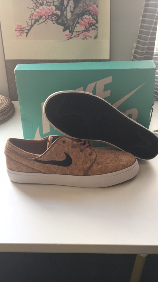 meet 31aa9 2af2a NIKE ZOOM STEFAN JANOSKI ELITE ALE BROWN/BLACK-WHITE