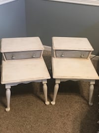 two brown wooden 2-drawer nightstands Wartrace, 37183