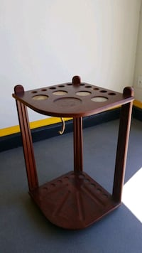Pool Cue Stick Holder - First Come