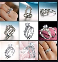 silver-colored ring collage Surrey, V3X 1P3