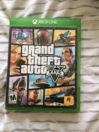 Xbox one grand theft auto 5 game case Washington, 20032