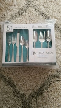 51 Piece Cutlery Set - Brand new Arlington, 22201