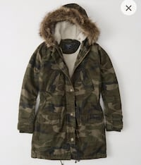 Ambercrombie & fitch parka
