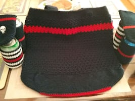 Thin Red Line Market Tote